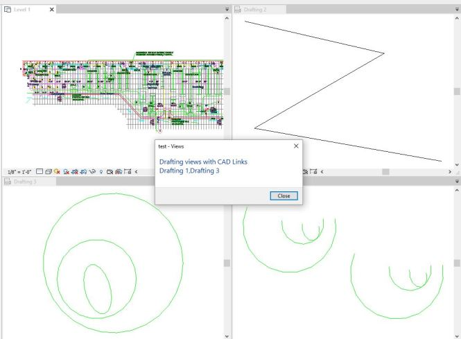 How to find drafting views with linked CAD – Boost Your BIM